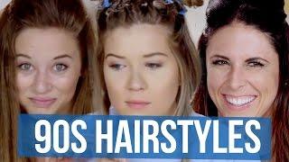 getlinkyoutube.com-90's Hair Accessories We Forgot About (Beauty Break)
