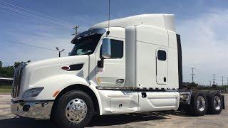 getlinkyoutube.com-2016 Peterbilt 579 550 Cummins 18 Speed Double Bunk Platinum Interior
