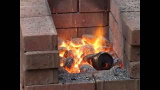 getlinkyoutube.com-Homemade Blacksmiths Forge