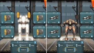 getlinkyoutube.com-War Robots [2.3] Test Server - NEW Light / Medium Prototype Robot Gameplay