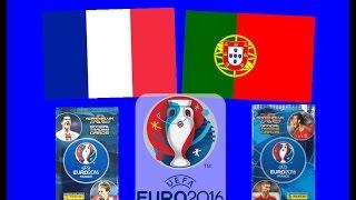 getlinkyoutube.com-Był kiedyś taki mecz - Francja - Portugalia - Euro 2016 - Karty Panini