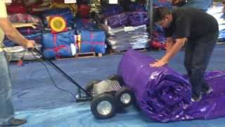 getlinkyoutube.com-Inflatable Roller Machine