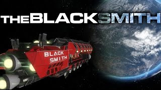getlinkyoutube.com-Space Engineers - The Blacksmith (Red Team Carrier & Support Vessel)