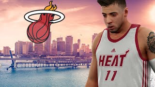getlinkyoutube.com-NBA 2k16 My Career -  Miami Heat Debut Ep.9