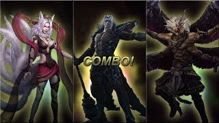 getlinkyoutube.com-Musou Orochi 2 Ultimate (Warriors Orochi 3 Ultimate) - Team Combos Compilation (New Characters)