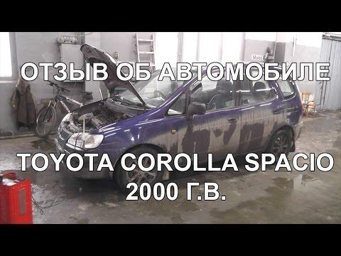 Отзыв о Toyota Corolla Spacio 2000 г.в. СТО 5 Секунд