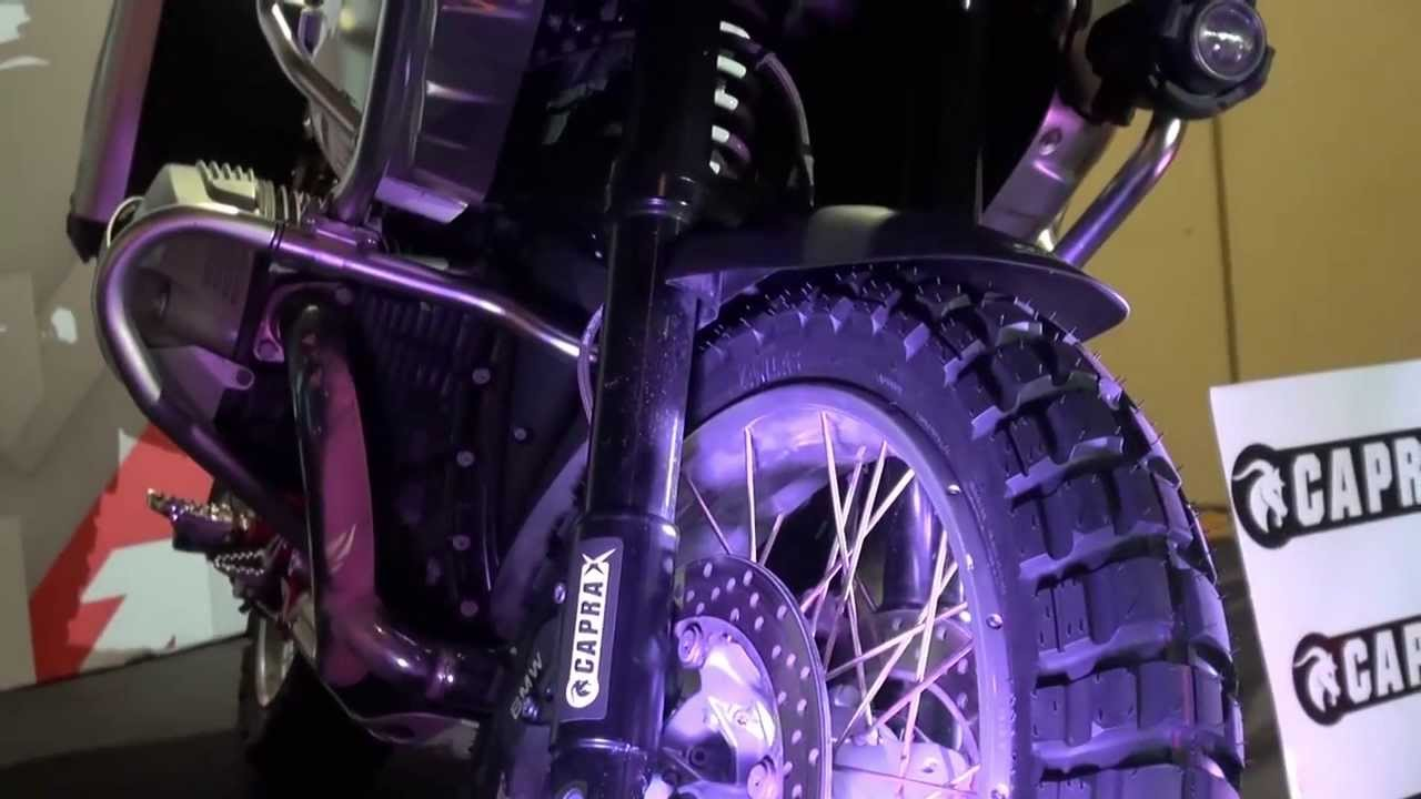Türkiye'nin ilk büyük off-roas motosiklet lastiği; CAPRA X