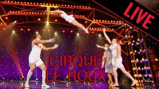 getlinkyoutube.com-CIRQUE LE ROUX - Voltige Acrobatique  / LE PLUS GRAND CABARET DU MONDE