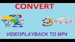 Easy Way to convert Videoplayback to MP4 without any software - HD video | bangla tutorial