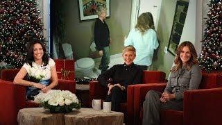 getlinkyoutube.com-Ellen and Julia Roberts Scare Julia Louis-Dreyfus