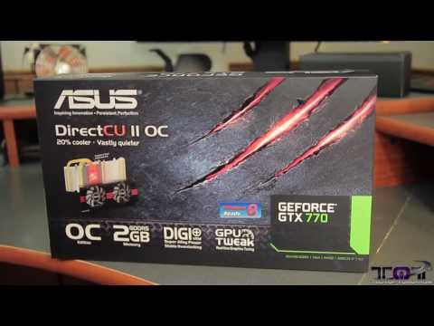 ASUS GTX 770 DirectCU II 2GB Video Card Unboxing!