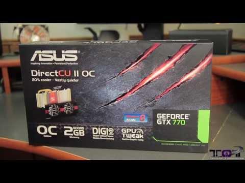 ASUS GTX 770 DirectCU II 2GB Video Card Unboxing!