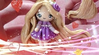 """Clay Tutorial: Rapunzel from """"Tangled"""""""