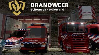 getlinkyoutube.com-GTA IV - Firefighter Mod - Dutch Fire Dept / Brandweer