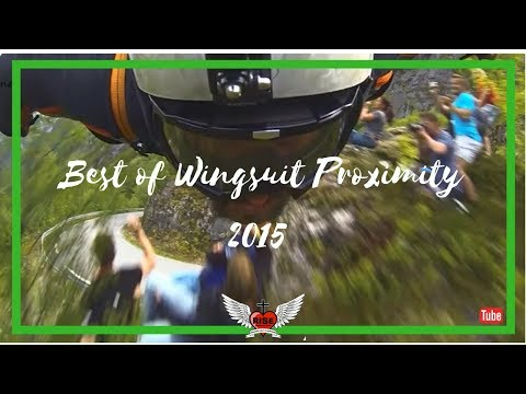 Best of Wingsuit Proximity Flying 2015