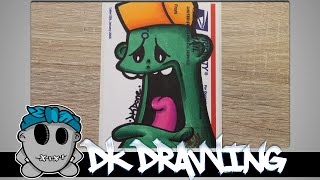 getlinkyoutube.com-Graffiti Tutorial for beginners - How to shade with sharpies #9