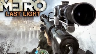 getlinkyoutube.com-Metro Last Light Redux: Sniper Mission Gameplay