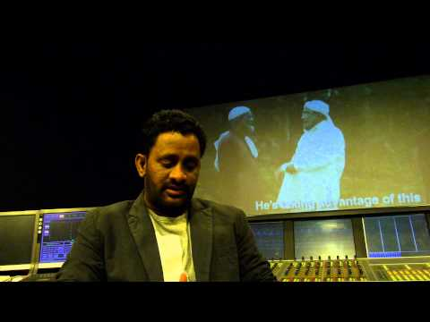 Resul Pookutty on Om Dar Ba Dar