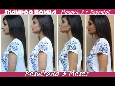 SHAMPOO BOMBA Monovin A + Bepantol - Experiência de 3 Meses