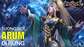 Tướng mới ARUM Nữ vương linh thú đi rừng siêu nhanh Arena of Valor Arum Jungle Best Build