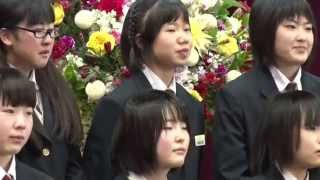getlinkyoutube.com-「涙と笑い」の西根中学校卒業式