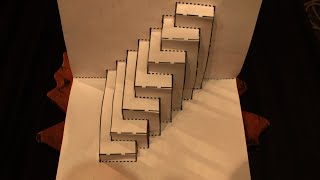 getlinkyoutube.com-5 Amazing Paper Tricks And Illusions!