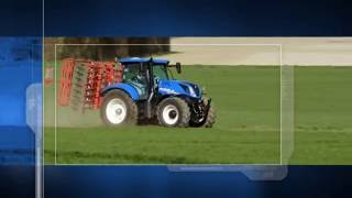 New Holland, T6 Tier 4B - Front Axle and Cab Suspension
