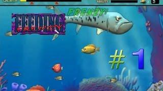 getlinkyoutube.com-Feeding Frenzy #1 (Stage 1-16) - ปลาใหญ่กินปลาเล็ก กับภัยอันตรายในท้องทะเล