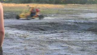 getlinkyoutube.com-Extreme Go Kart 150cc Rollover Flip Crash Ocala