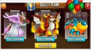 Dragon City - Random Fight | Part 47 [Full Combat & Skills 2017]