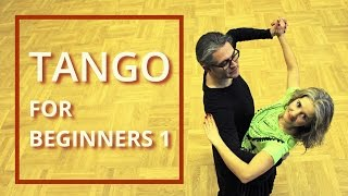 getlinkyoutube.com-Tango for Beginners 1 | Walk - Link - Promenade