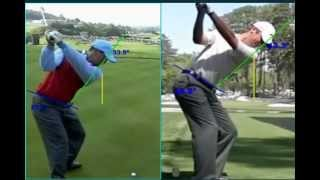 getlinkyoutube.com-Tiger Woods vs. Sean O'Hair  Sean Foley Technique