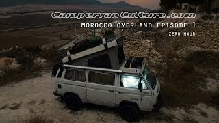 getlinkyoutube.com-VW T25/T3/Vanagon/Syncro Morocco Overland Episode 1 - Zero Hour