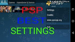 PSP BEST SETTINGS LARA CROFT TOMB RAIDER ANNIVERSARY