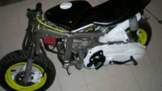 getlinkyoutube.com-Minimoto 180cc(Motore Runner 2T)