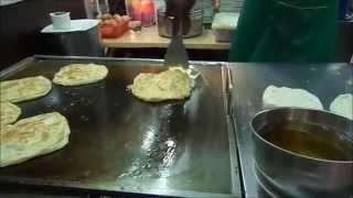 Street food - Kuala Lumpur, Malaysia, Little India, Roti prata