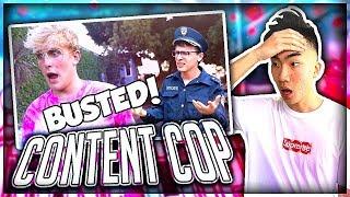 Reacting to IDubbbz's Content Cop on Jake Paul