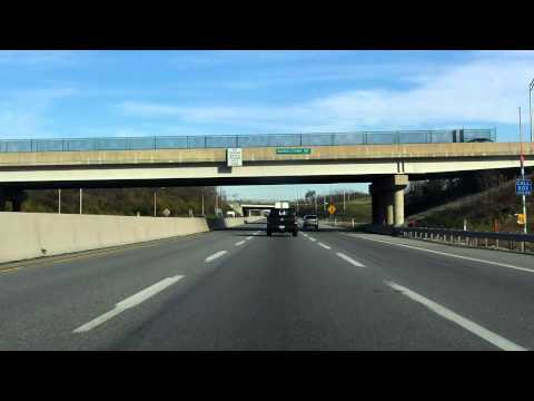Pennsylvania Turnpike (Interstate 276 Exits 326 to 339) eastbound