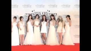 getlinkyoutube.com-151230 SNSD KBS Gayo Daejun red carpet