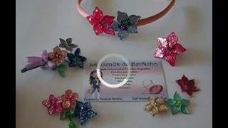 getlinkyoutube.com-Flores de alambre y esmalte regalo ideal para mama.  Flowers wire and nail polish