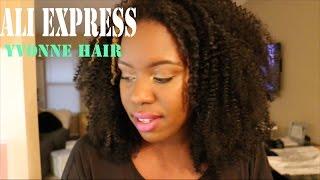 getlinkyoutube.com-Aliexpress Yvonne Hair Company...A must buy