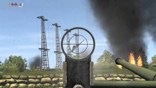 getlinkyoutube.com-Il-2 Sturmovik: Controllable Flak Gameplay
