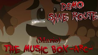 (Mario) The Music Box -ARC- | RPG Maker Horror [ Sane Route Demo + No Commentary ]