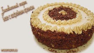 getlinkyoutube.com-Бисквитный торт безе с кофейным кремом