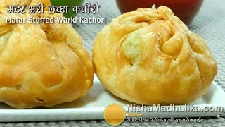 getlinkyoutube.com-Matar Kachori Khasta Recipe - Green Peas Stuffed Layered Kachori - Matar Ki Kachori
