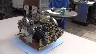 getlinkyoutube.com-Miniature 6 cylinder boxer engine