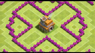 getlinkyoutube.com-Clash Of Clans - Circle Of Death! (TH6 BEST TROPHY BASE EVER!) - New 2015 HD