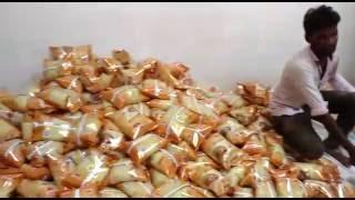 getlinkyoutube.com-Atta Packing machine 500gms, 1Kg, Wheat flour Packing Machine