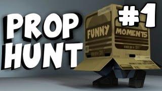 getlinkyoutube.com-Prop Hunt Garry's Mod: Funny Moments Montage #1