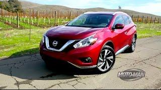 getlinkyoutube.com-2015 Nissan Murano - FIRST DRIVE
